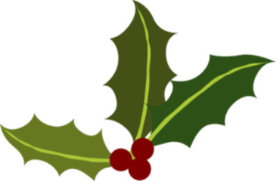 Christmas Holly Clip Art Art Design And Craft