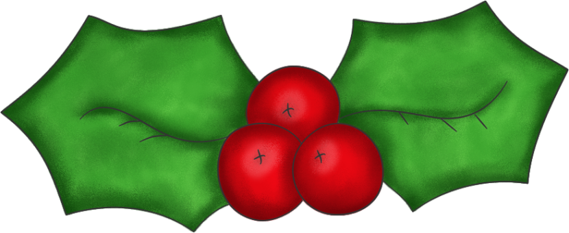 Christmas Holly Clip Art Best Christmas Moment