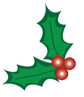 Christmas Holly Clip Art Borders Free