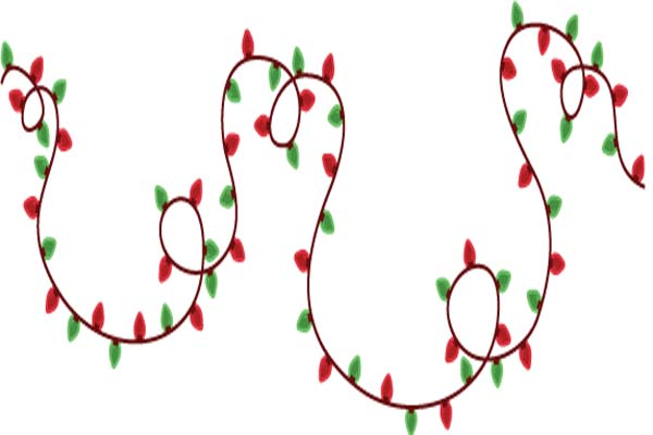 Christmas Lights Clip Art Best Template Collection