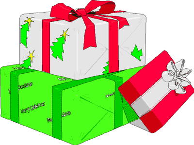Christmas Present Clip Art Christmas Presents