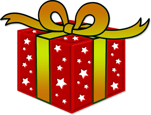 Christmas Present Clipart Free
