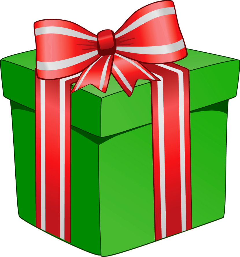 Christmas Presents Clip Art Happy Holidays