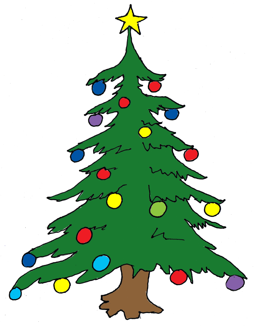 Christmas Tree Clipart Christmas Ideas