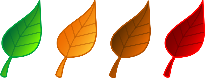 Clip Art Fall Leaves