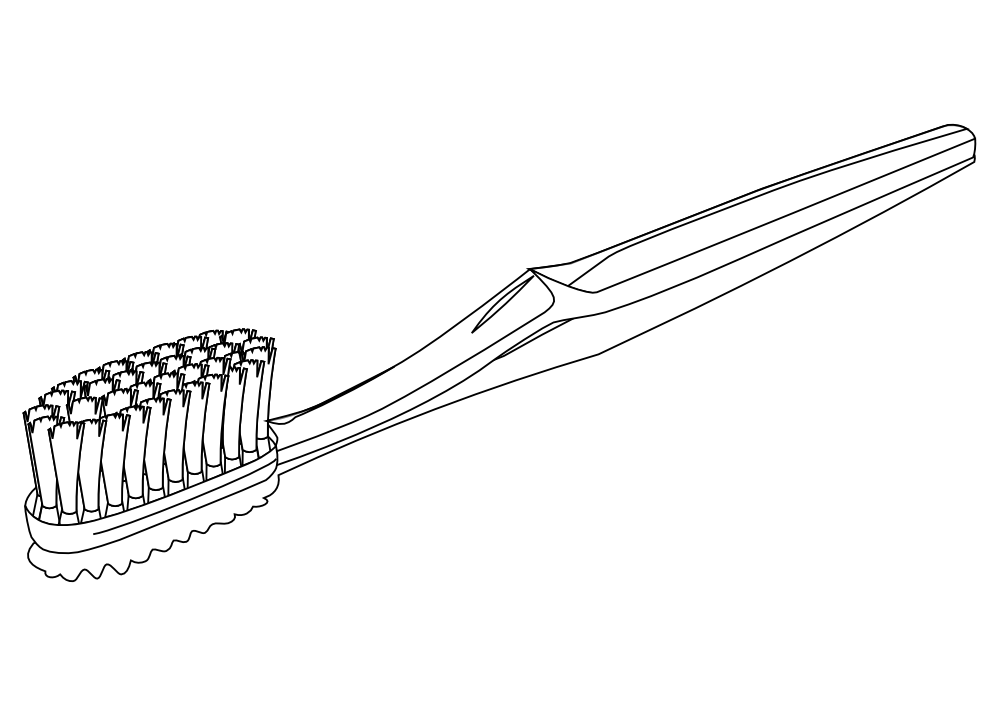 Toothpaste Free Coloring Pages