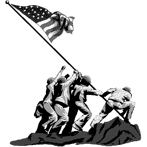 Clip Art Veterans Day Black And White 4 Png