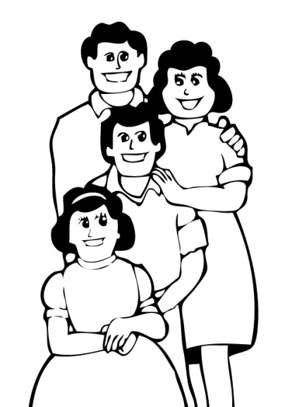 Clipart Family Members Free
