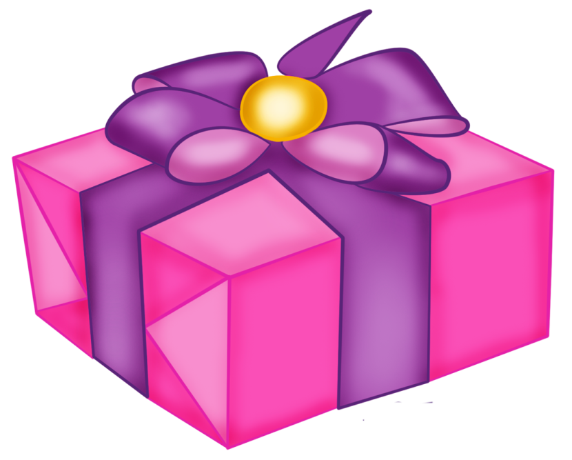 Clipart Pink Gift Boxes