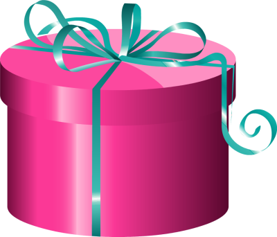 Clipart Pink Gift Boxes Present Clipart