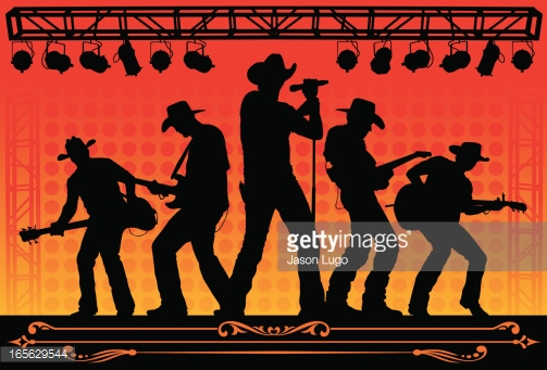 Country Music Concert Vector Art Getty Images