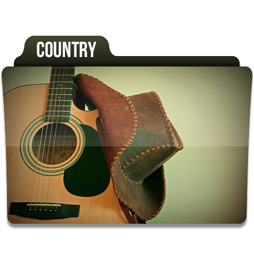 Country Music Folder Icon Png Clipart Image Iconbug Com