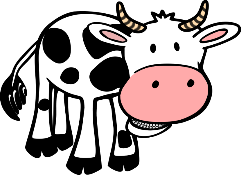 Cow Clip Art Animals