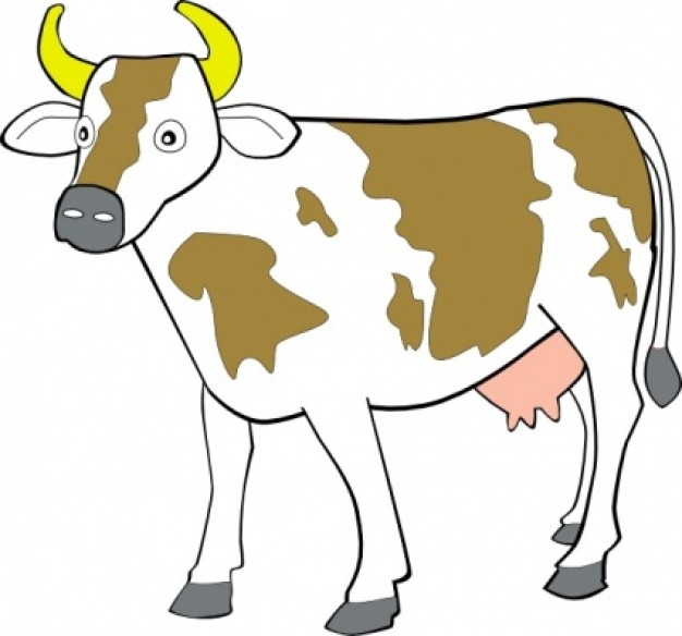 Cow Clip Art Free Cartoon Free