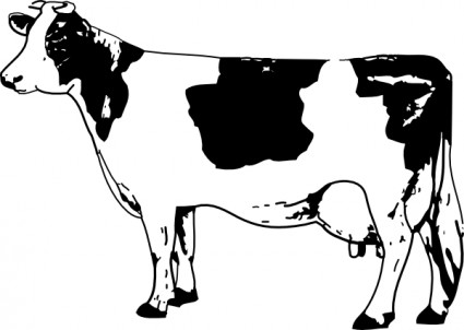 Cow Clip Art Free Vector In Open Office Drawing