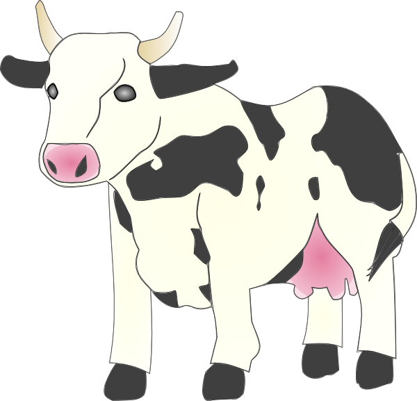 Cow Clipart 2 Frpic