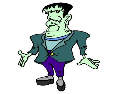 Cute Frankenstein Free Clipart Free Clip Art Images