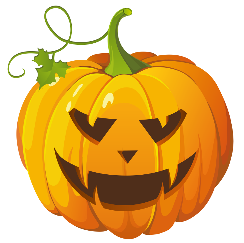 Cute Halloween Pumpkin Clip Art Free