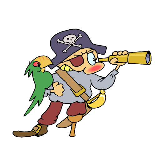 Cute Pirate Clipart Free