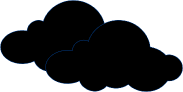 Dark Cloud Clip Art At Vector Clip Art Online