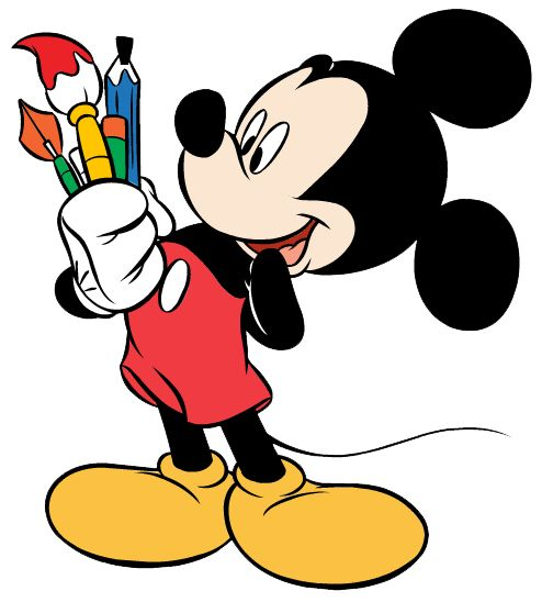 Disney Clip Art On Mickey Mouse Disney And Disney