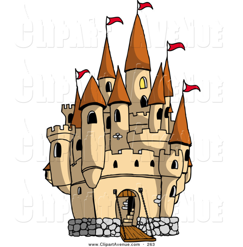 Disney Princess Castle Clipart Free