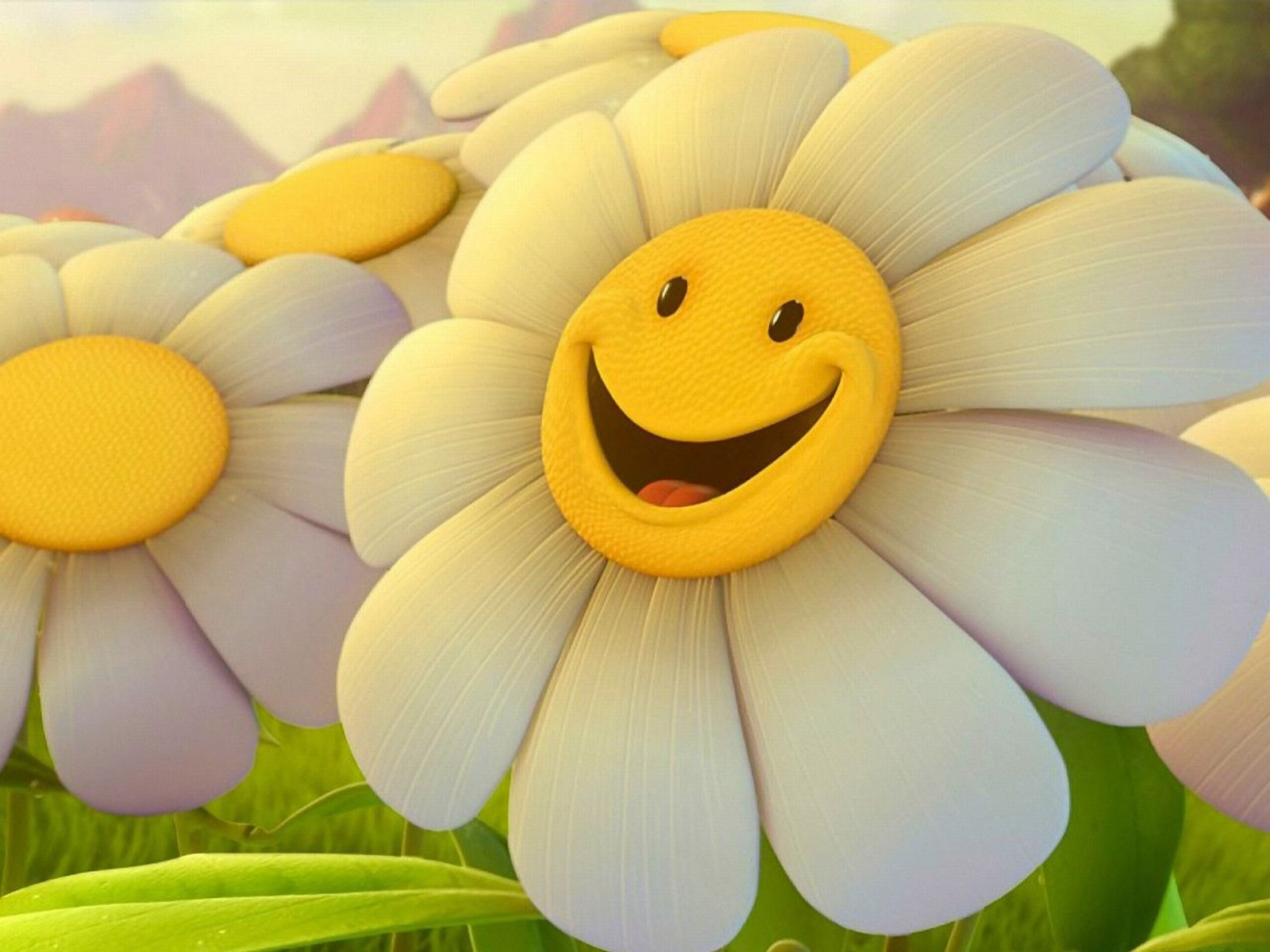 Download Flower Smiley Faces Wallpaper Full Hd Wallpapers
