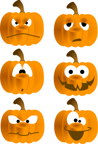 Fall Blessings Clipart
