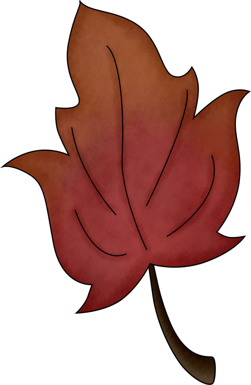 Fall Leaf Clipart No Background Free