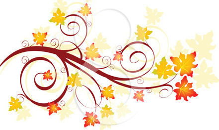 Fall Leaves Border Clip Art Free