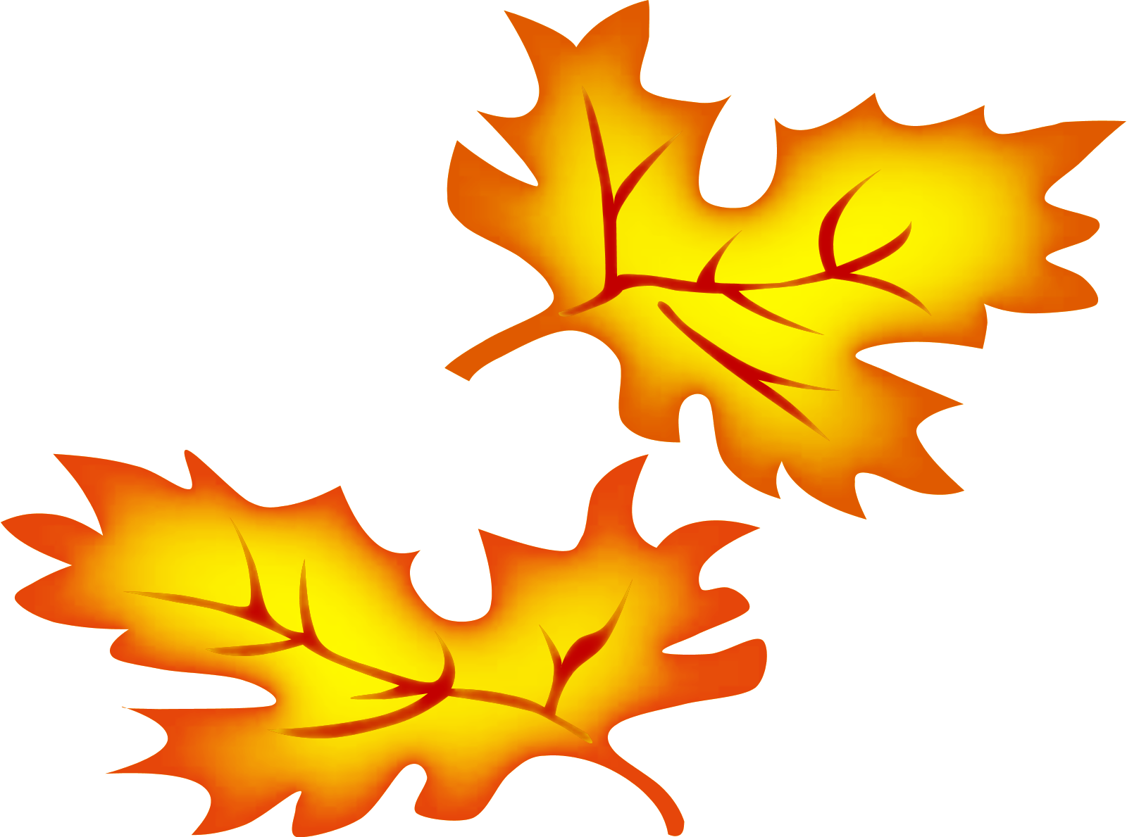 Fall Leaves Border Clipart Free