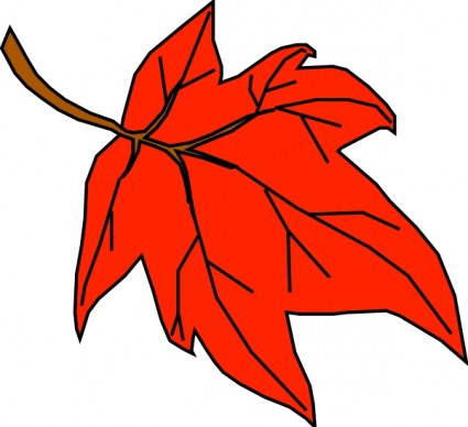 Fall Leaves Clip Art Free Vector Free
