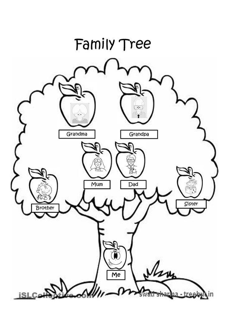 Family Tree Clipart Black And White Black And White Family Tree