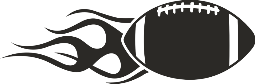 Flag Football Clipart