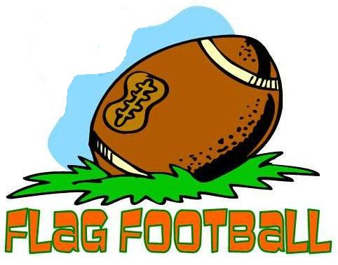 Flag Football Clipart #24081