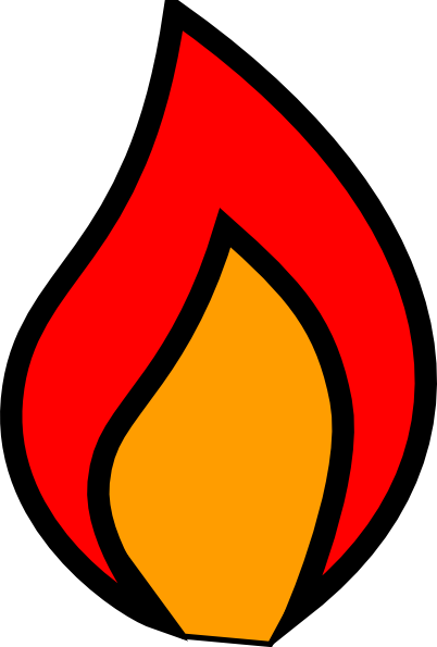 Flame Clip Art Free Free