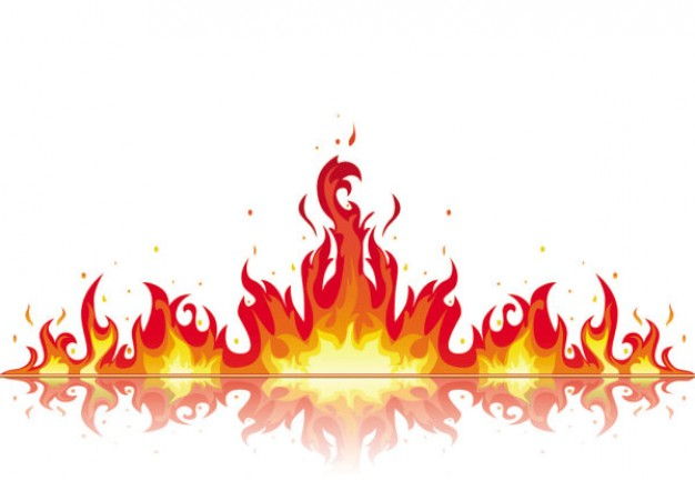 Flame Vector Flame Clipart
