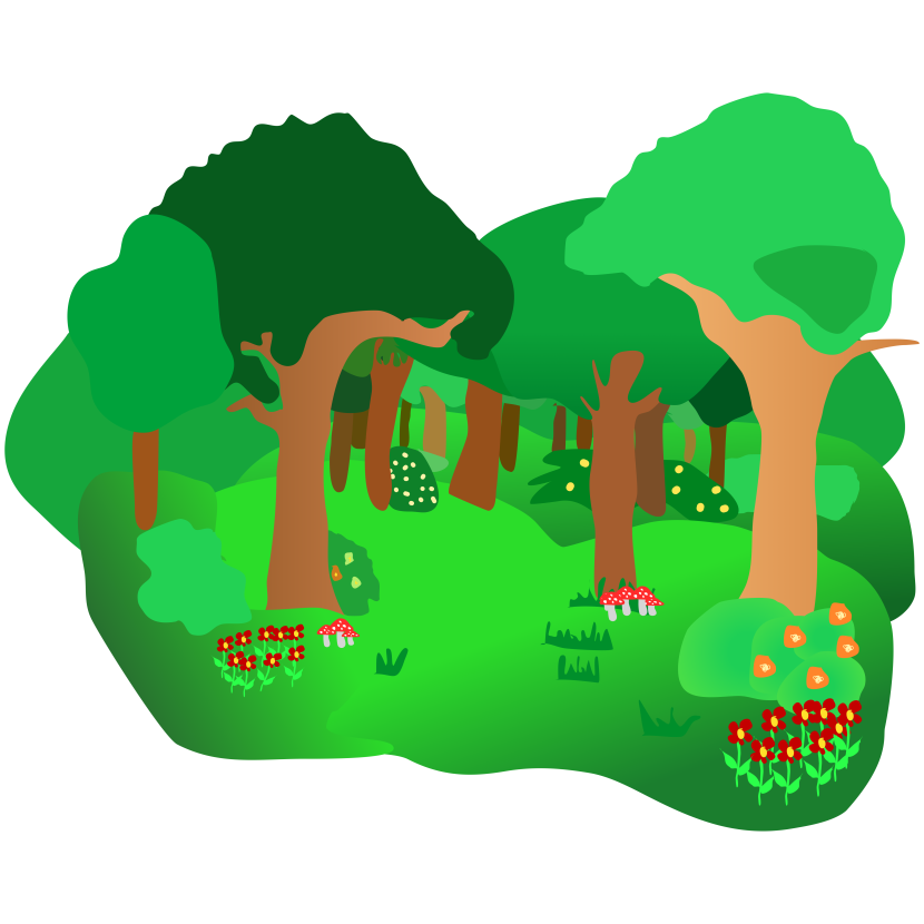 Image result for clipart forest