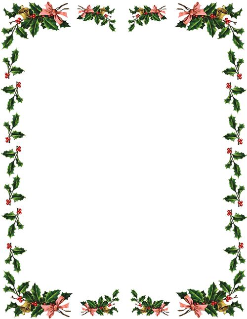Free Christmas Border Best Christmas Moment