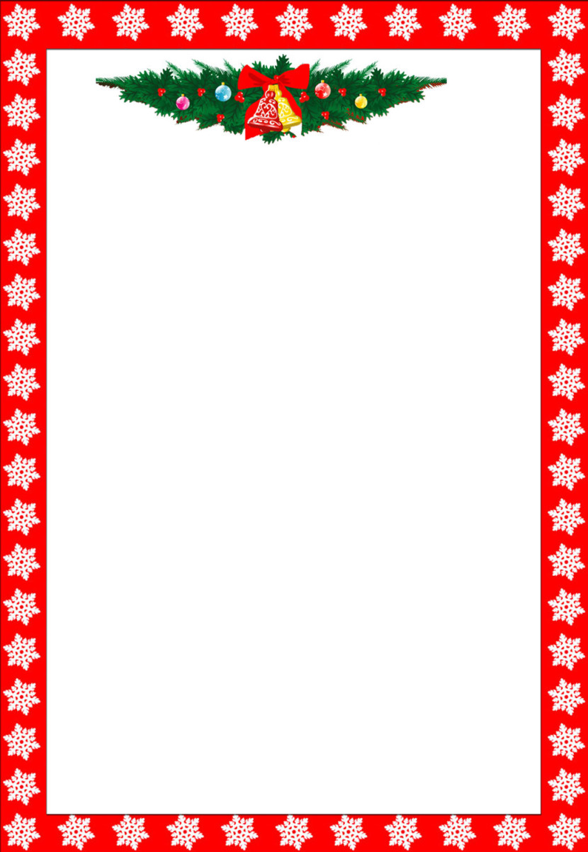 Free Christmas Clip Art Borders For Mac