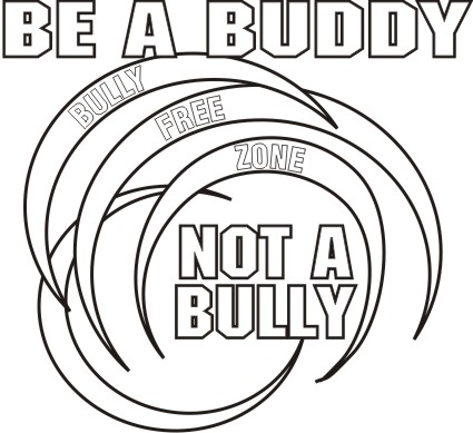 Free Coloring Pages Of Be A Not A Bully