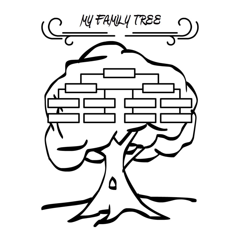 best family tree clipart  24216