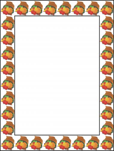 Free Thanksgiving Borders And Frames 3 Free Clipart
