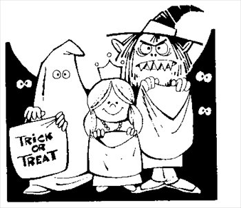 Free Trick Or Treat Clipart Free Clipart Graphics Images And