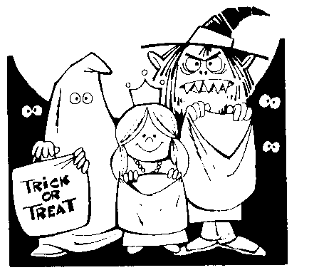 Free Trick Or Treat Clipart Free Graphics