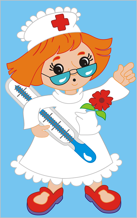 Free Vector Graphic Nurse Cartoons Medical Hospital Free