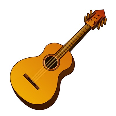 Guitar Clip Art Acoustic Music Instrument Icon Just Free Image