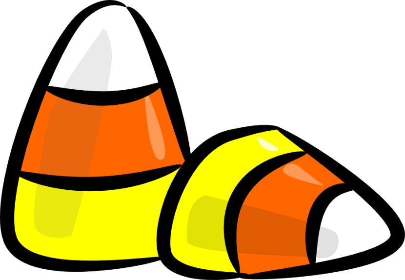 Halloween Candy Corn Clipart Free