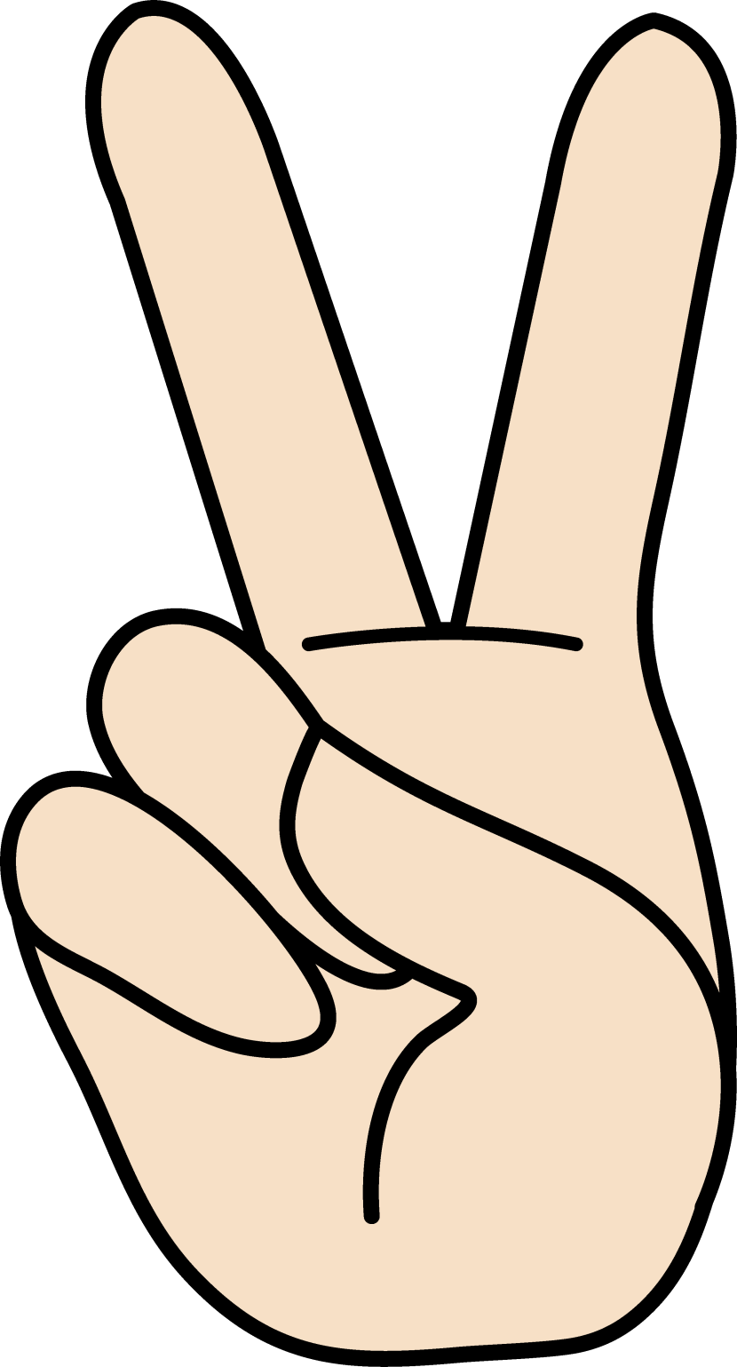 Peace sign clip art clipartion hand peace sign symbol free biocorpaavc