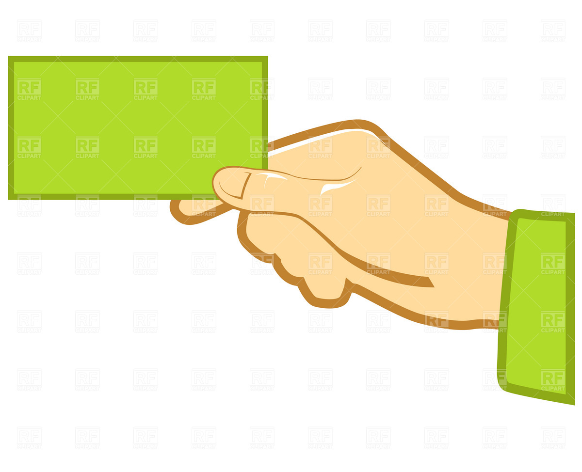 Hand With Blank Business Card 1 Business Finance Download